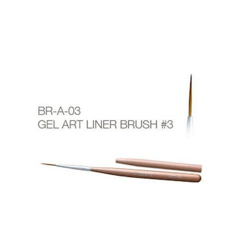 Akzentz - Gel Art Liner Brush - #03