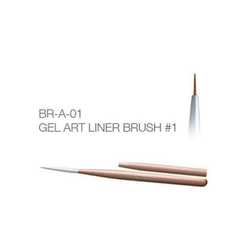 Akzentz - Gel Art Liner Brush - #01
