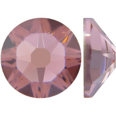 Nove Swarovski Crystals - Blush Rose - SS5