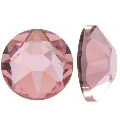 Nove Swarovski Crystal - Light Rose - SS9
