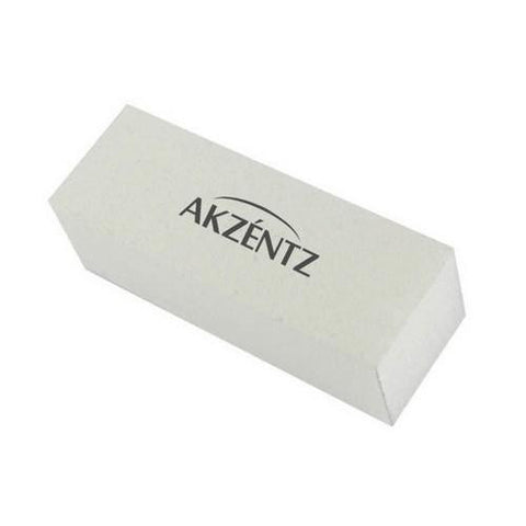 Akzentz - White Buffing Block - 240/240 Grit