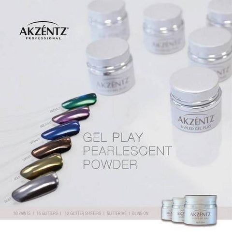 Akzentz - Pearlescent Powder Minis - 6 Pack