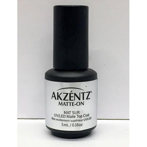 Akzentz - Matte On Mini Top Coat - 5ml