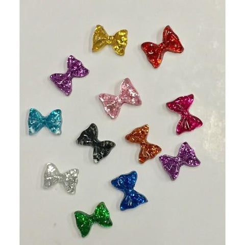 3D Bows - Assorted Colors - 5pck