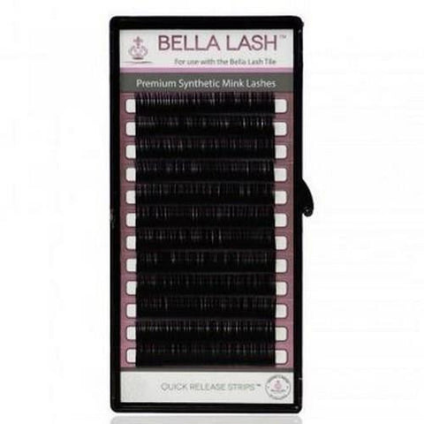 Bella - Lash Extensions Volume D-Curl Mink - 0.07 X 14mm