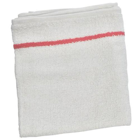 BaByliss PRO - Spa Towel - White w/ Cherry Stripe