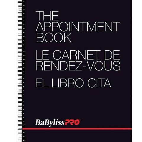Babyliss PRO - Appointment Book - 4 Column
