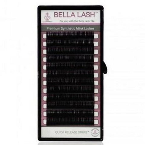 Bella - Lash Extensions Volume C-Curl Mink - 0.03 Mix (8-15mm)
