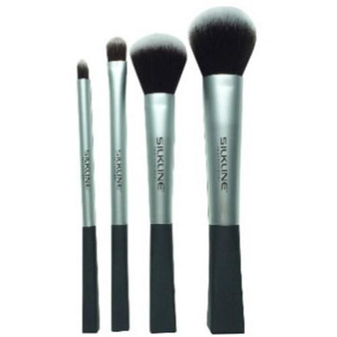 Silkline - Makeup Brushes - 4pk