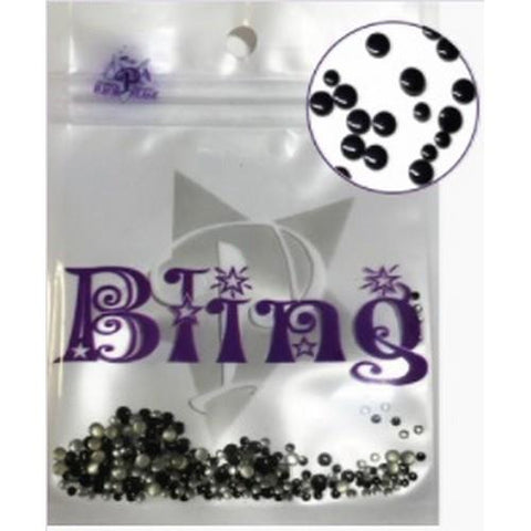 PF - Bling Black Dots