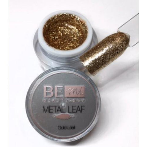BEmi Beauty Box - Gold Metal Leaf Gel - 5mL