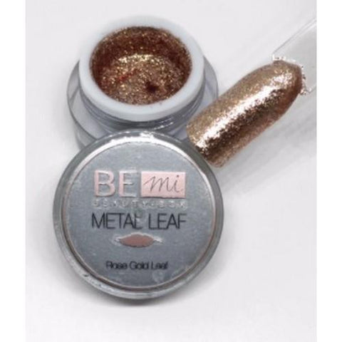 BEmi Beauty Box - Rose Gold Metal Leaf Gel - 5mL