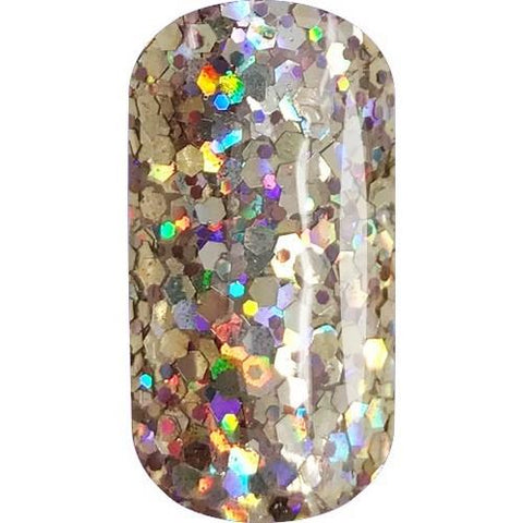 Akzentz Gel Play - Glitter Gold Crush - 4g