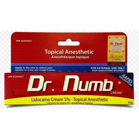 Dr. Numb - Topical Anesthetic - 30g