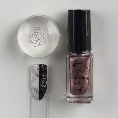 Clear Jelly Stamper - #41 Sweet Baby Rose - 5ml