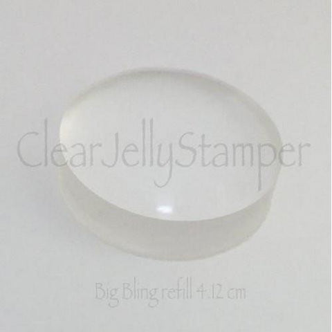 Clear Jelly Stamper - Big Bling Replacement End