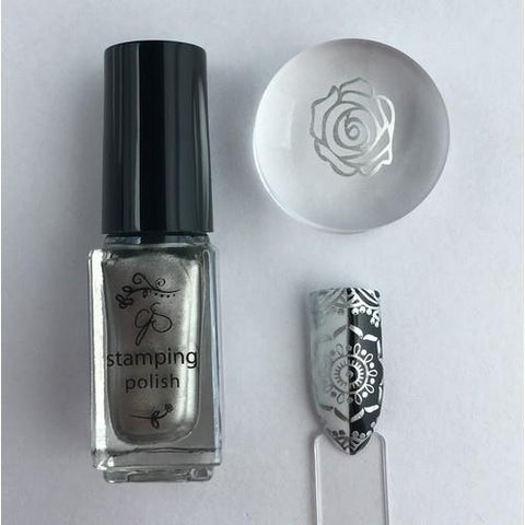 Clear Jelly Stamper - #45 Molten Alloy - 5ml