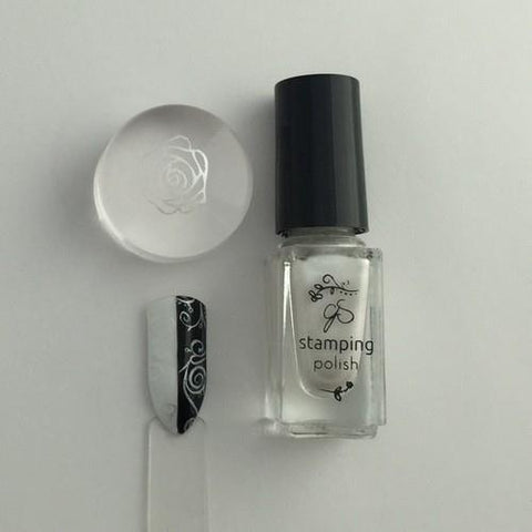 Clear Jelly Stamper - #34 Angelic White - 5ml