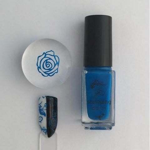 Clear Jelly Stamper - #10 Gotta Be Blue - 5ml