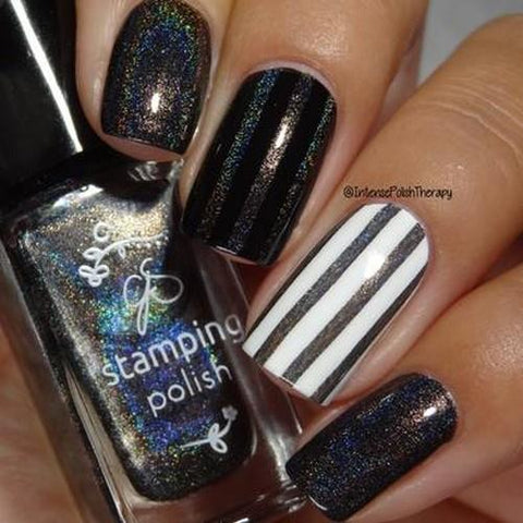 Clear Jelly Stamper - #H6 Holographic Rainbow - 5ml