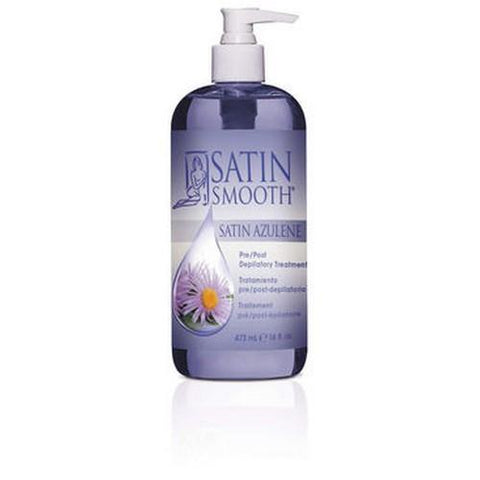 Satin Smooth - Azulene Pre/Post Depilatory Treatment - 16oz