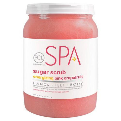 BCL - Pink Grapefuit Sugar Scrub - 64 oz