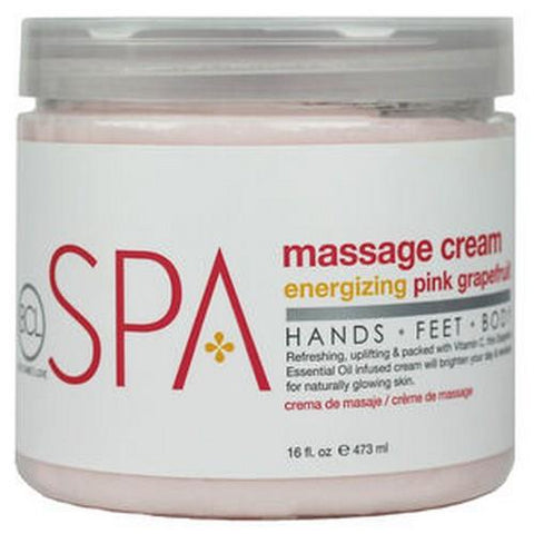 BCL - Energizing Pink Grapefruit Massage Lotion - 16 oz