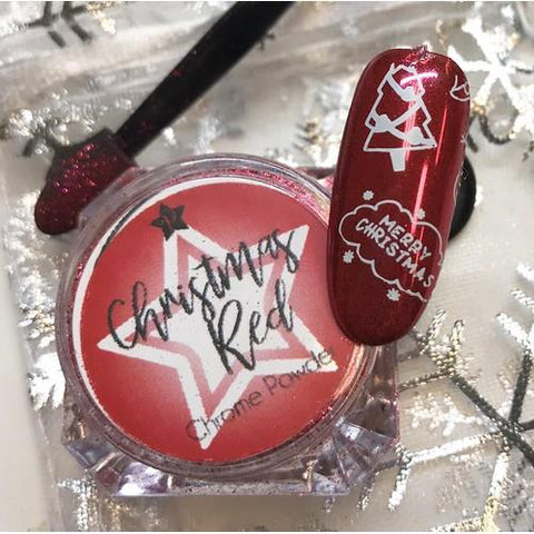 PF - Pigments Christmas Red Chrome