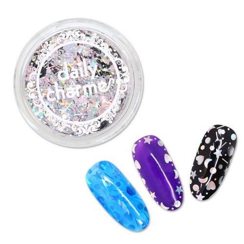 DC - Mystical Moon Glitter - Holographic Silver