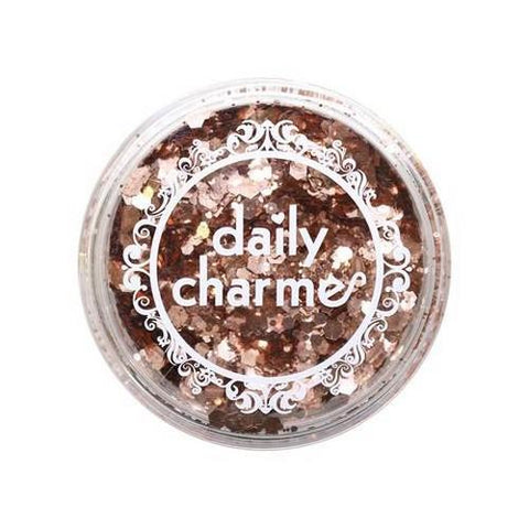 DC - Hex Glitter - Pink Rose Gold 20g