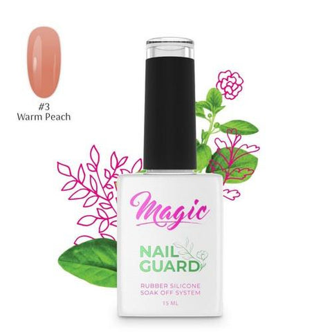 Magic - Nail Guard - Warm Peach #3 - 15ml