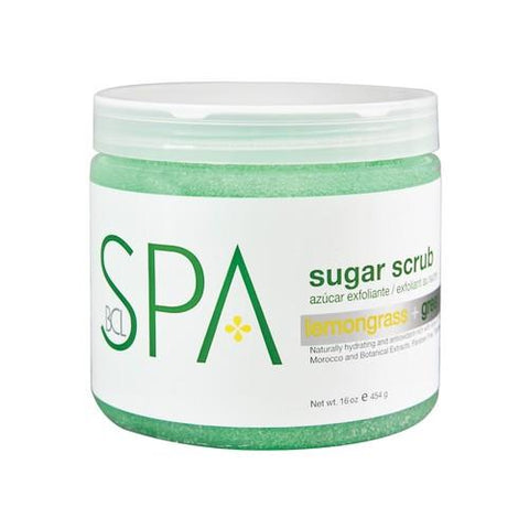 BCL - Lemongrass & Green Tea Sugar Scrub - 16 oz