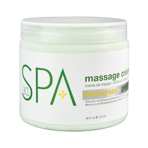 BCL - Lemongrass & Green Tea Massage Lotion - 16 oz