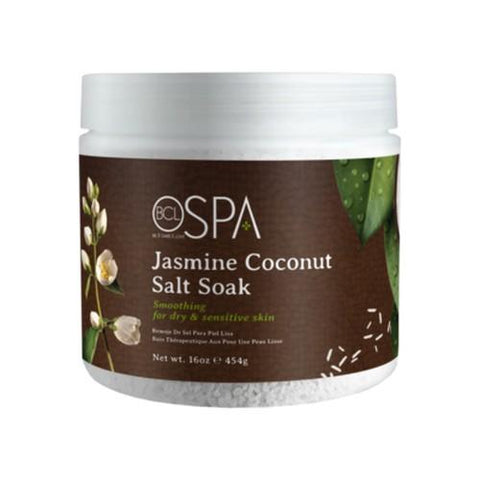 BCL - Jasmine & Coconut Sea Salt Soak - 16 oz