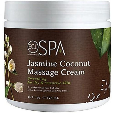 BCL - Jasmine & Coconut Massage Lotion - 16 oz