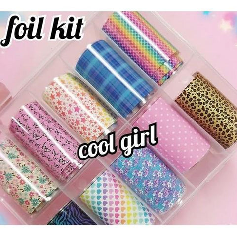 Enailcouture - Foil Kit Cool Girl - 10pc