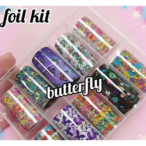 Enailcouture - Foil Kit Butterfly - 10pc