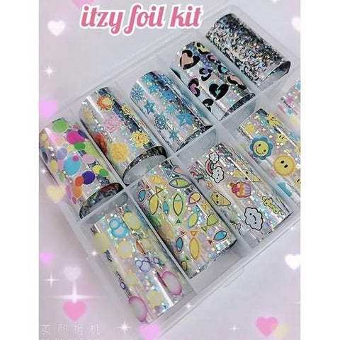 Enailcouture - Foil Kit Itzy - 10pc