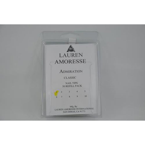 Lauren Amoresse - Classic Tips Size #1  - 50 Pack