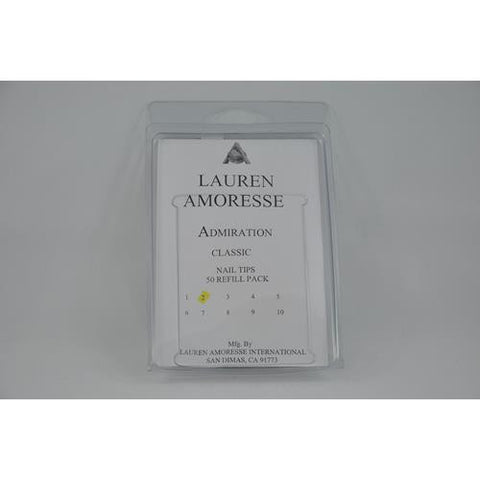 Lauren Amoresse - Classic Tips Size #2  - 50 Pack