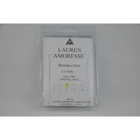 Lauren Amoresse - Classic Tips Size #3  - 50 Pack