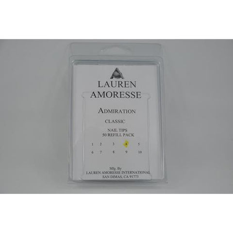 Lauren Amoresse - Classic Tips Size #4  - 50 Pack