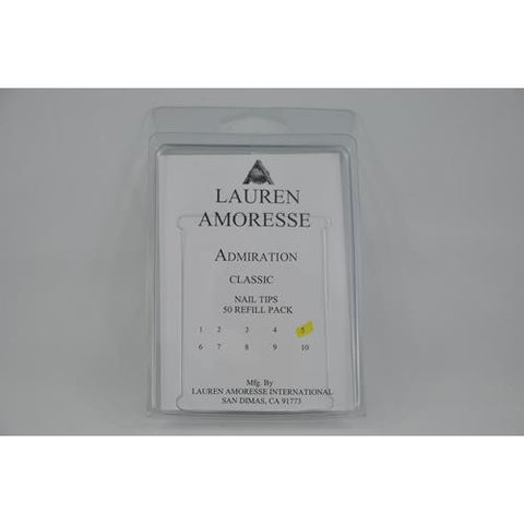 Lauren Amoresse - Classic Tips Size #5  - 50 Pack