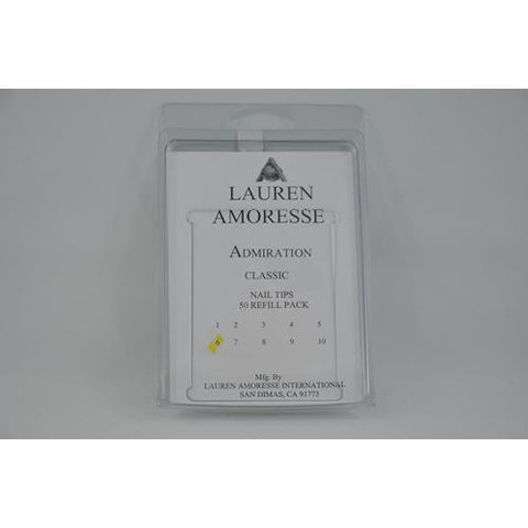 Lauren Amoresse - Classic Tips Size #6  - 50 Pack