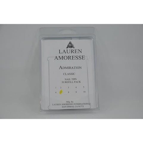Lauren Amoresse - Classic Tips Size #7  - 50 Pack