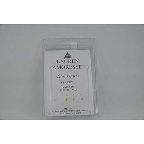Lauren Amoresse - Classic Tips Size #8  - 50 Pack