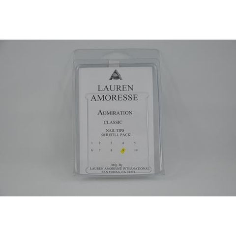 Lauren Amoresse - Classic Tips Size #9  - 50 Pack