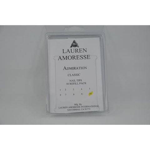 Lauren Amoresse - Classic Tips Size #10  - 50 Pack