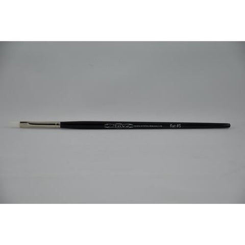 Nove - White Synthetic Brush #5