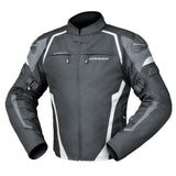 Jacket: DRIRIDER SPRINT Black/White/Grey